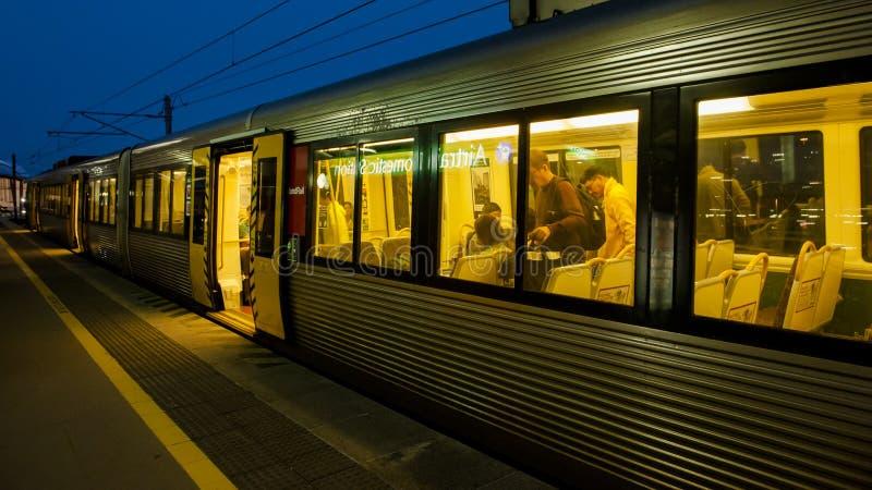 Σιδηροδρομικός σταθμός του Μπρίσμπαν στοκ εικόνα με δικαίωμα ελεύθερης χρήσης