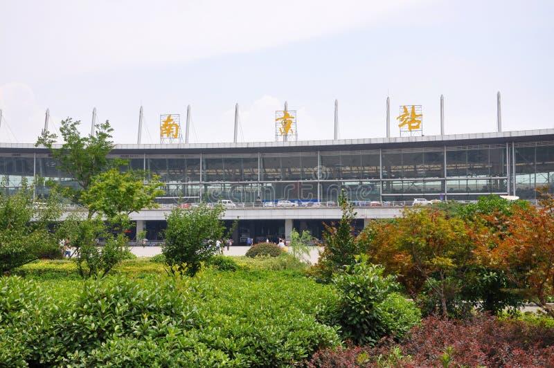 Σιδηροδρομικός σταθμός του Ναντζίνγκ, Ναντζίνγκ, Κίνα στοκ φωτογραφία