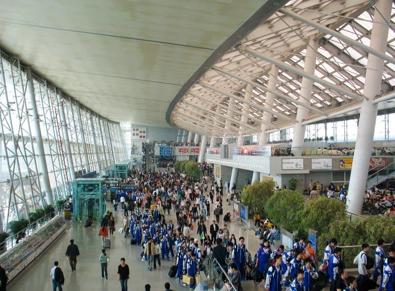 Σιδηροδρομικός σταθμός του Ναντζίνγκ στοκ εικόνες με δικαίωμα ελεύθερης χρήσης