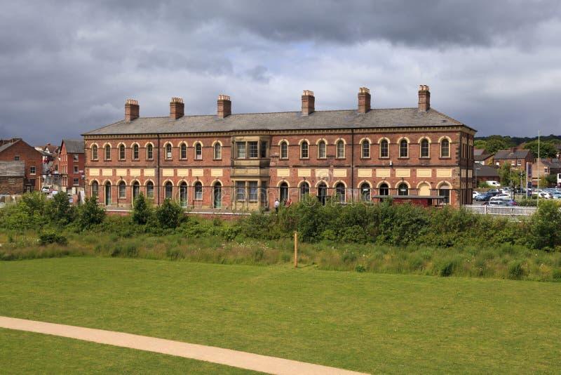 Σιδηροδρομικός σταθμός Oswestry στοκ φωτογραφία