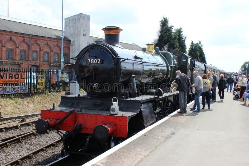 Σιδηρόδρομος κοιλάδων Severn τραίνων ατμού φέουδων του Bradley στοκ φωτογραφία με δικαίωμα ελεύθερης χρήσης