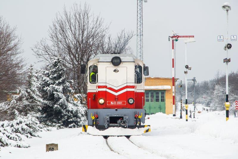 Σιδηρόδρομος παιδιών - Βουδαπέστη Εκδοτική Φωτογραφία - εικόνα από : 65891597