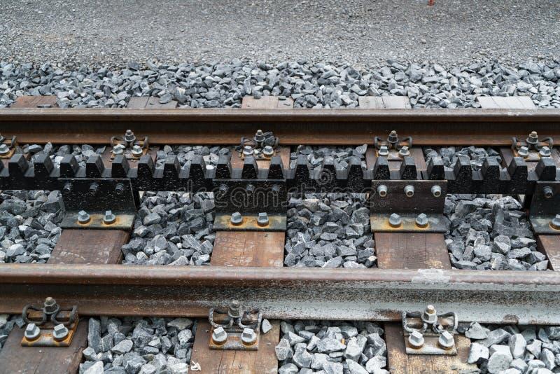 Σιδηρόδρομος ραφιών ή σιδηρόδρομος βαραίνω Jungfraubahn στοκ φωτογραφίες με δικαίωμα ελεύθερης χρήσης