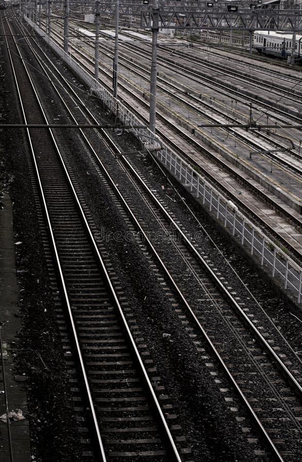 Σιδηρόδρομος (σταθμός τρένου) στοκ φωτογραφίες
