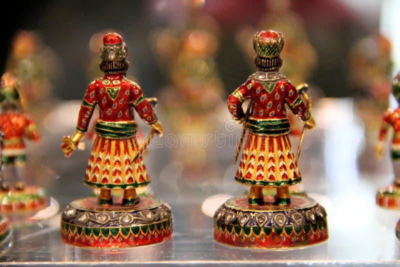 Σκάκι μέσα στο παλάτι του κοσμήματος στοκ φωτογραφία