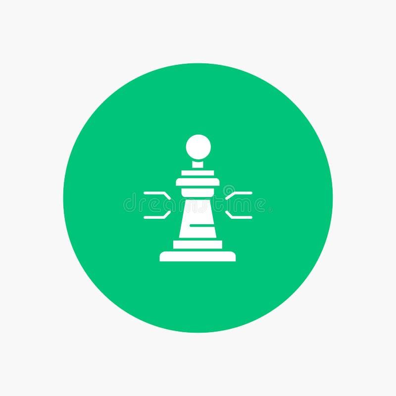 Σκάκι, παιχνίδι, παίκτης, βασιλιάς, πόκερ διανυσματική απεικόνιση