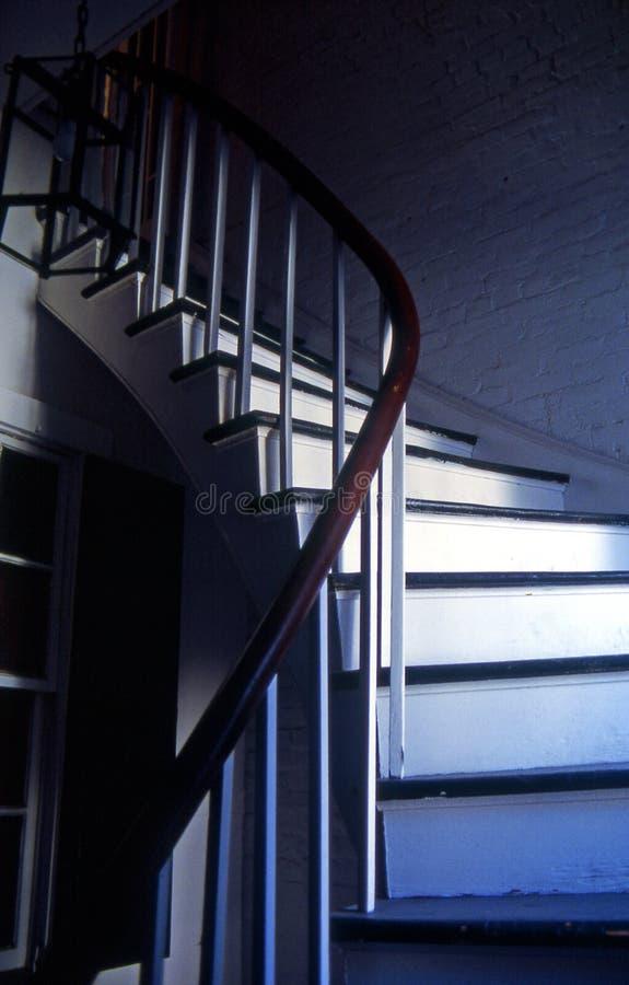 σκάλα γαλλικών συνοικιώ& στοκ εικόνα