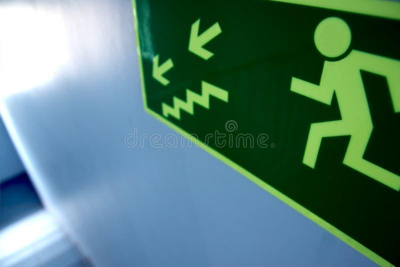 σκάλα εξόδων κινδύνου wokplace στοκ φωτογραφία με δικαίωμα ελεύθερης χρήσης