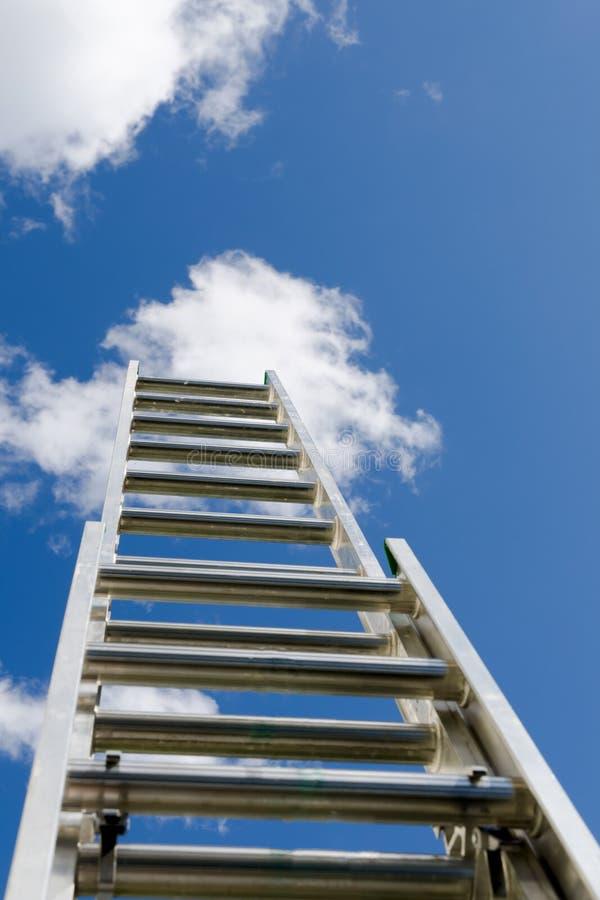 σκάλα κατασκευής στοκ φωτογραφίες
