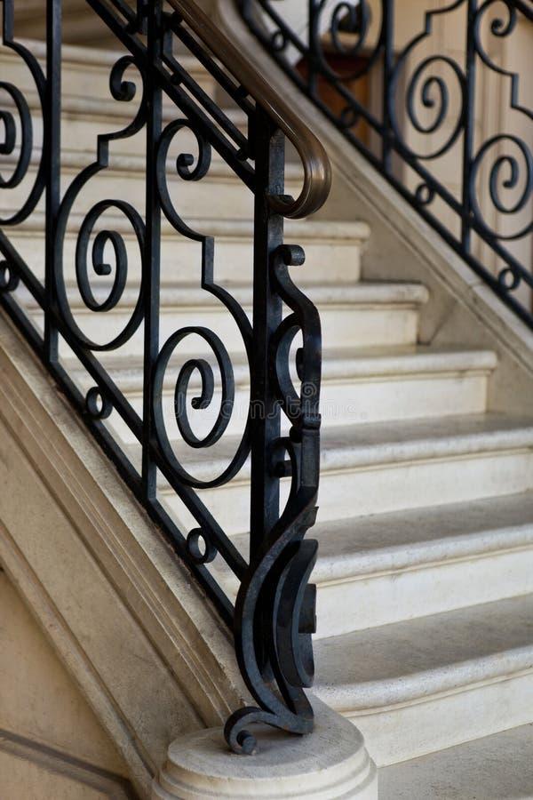 Σκάλα μέσα σε ένα σπίτι στοκ φωτογραφία με δικαίωμα ελεύθερης χρήσης
