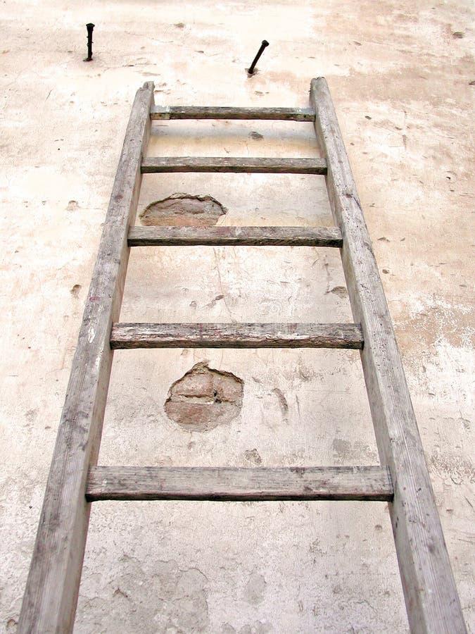 σκάλα παλαιά Στοκ φωτογραφία με δικαίωμα ελεύθερης χρήσης