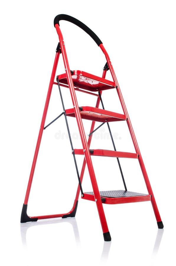 Σκάλα που απομονώνεται Στοκ Εικόνες