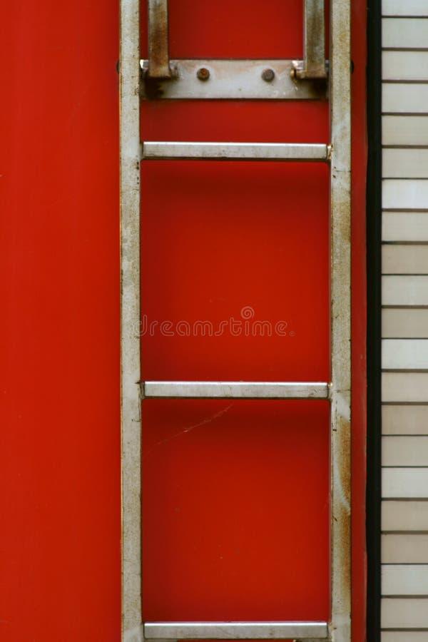 Σκάλα πυροσβεστικού οχήματος στοκ εικόνα με δικαίωμα ελεύθερης χρήσης