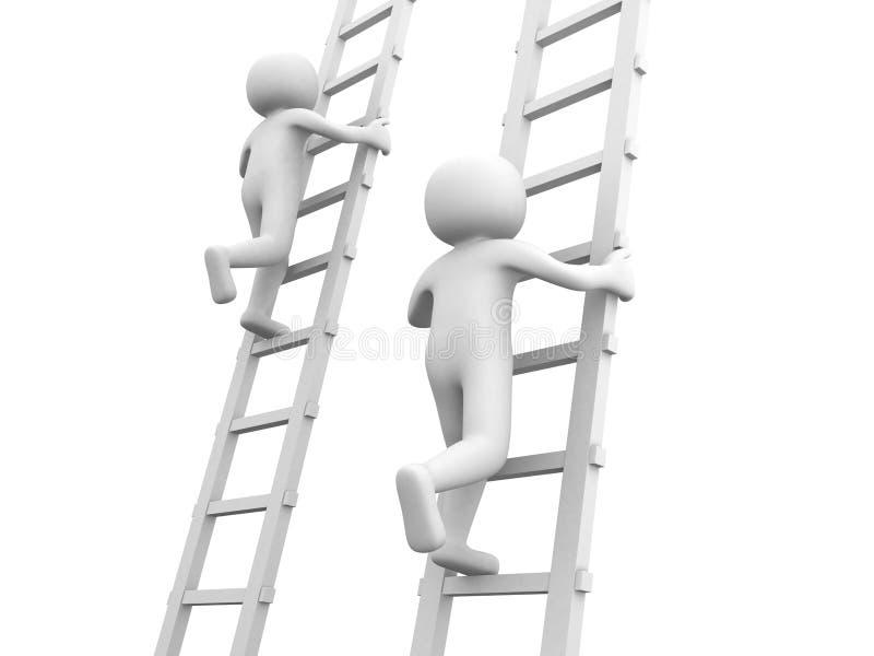 σκάλες ανταγωνισμού στοκ φωτογραφίες