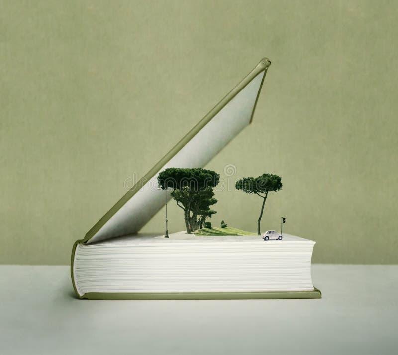 Σκάστε επάνω το βιβλίο διανυσματική απεικόνιση