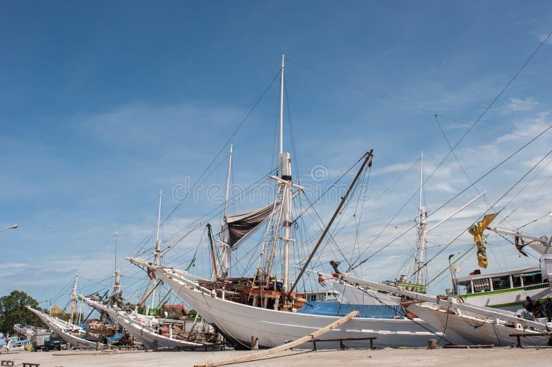 Σκάφη στο λιμάνι στοκ φωτογραφία