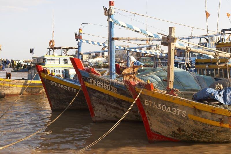 σκάφη τρία στοκ φωτογραφία με δικαίωμα ελεύθερης χρήσης