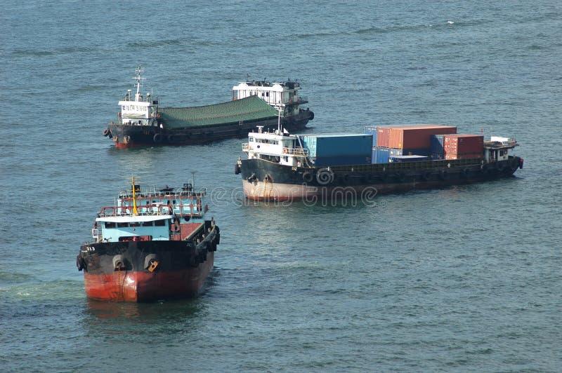 σκάφη φορτίου στοκ εικόνες με δικαίωμα ελεύθερης χρήσης