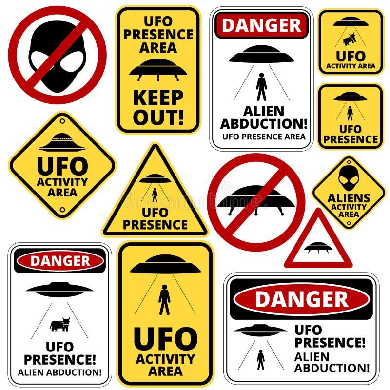 Σκάφη UFO ελεύθερη απεικόνιση δικαιώματος