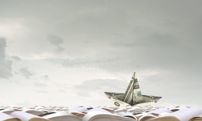 σκάφος εγγράφου στοκ φωτογραφία με δικαίωμα ελεύθερης χρήσης