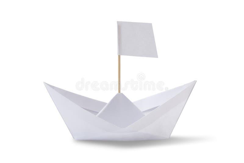 σκάφος εγγράφου origami στοκ φωτογραφία με δικαίωμα ελεύθερης χρήσης