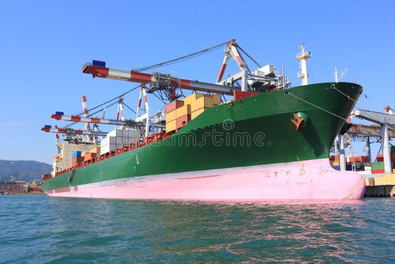 σκάφος εμπορευματοκι&beta στοκ φωτογραφία με δικαίωμα ελεύθερης χρήσης