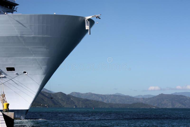 σκάφος θαλασσών οάσεων κρουαζιέρας Στοκ Εικόνες