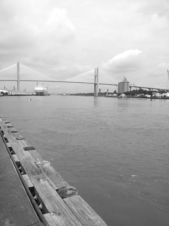 Σκάφος και λιμάνι στοκ εικόνες με δικαίωμα ελεύθερης χρήσης