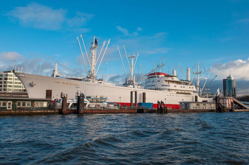 Σκάφος ΚΑΠ Σαν Ντιέγκο μουσείων στοκ εικόνες