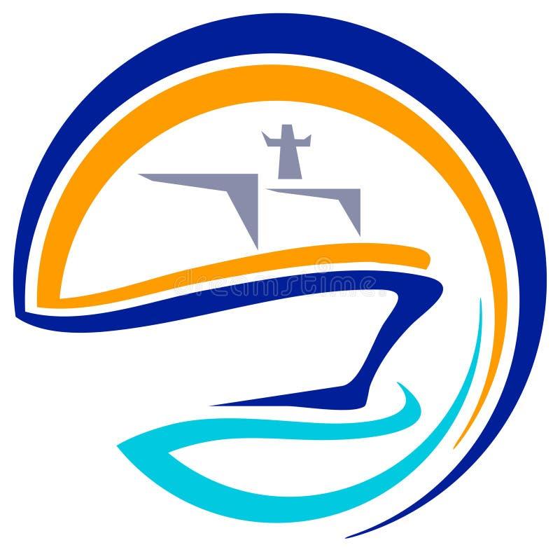 σκάφος λογότυπων ελεύθερη απεικόνιση δικαιώματος