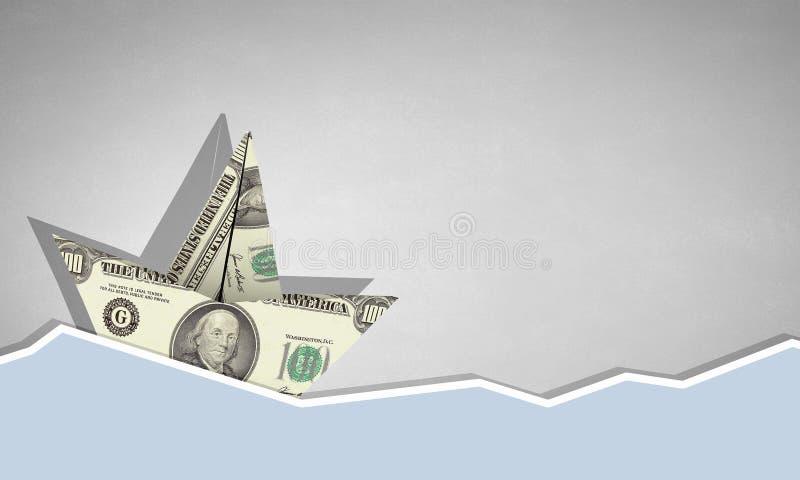 Σκάφος δολαρίων στοκ φωτογραφία