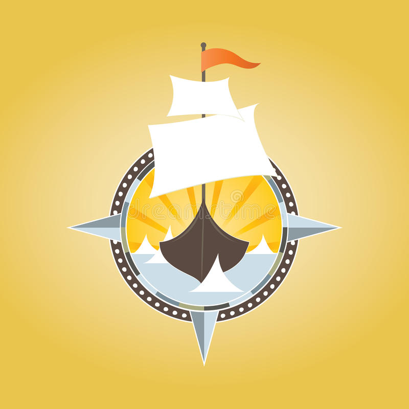 σκάφος πειρατών ελεύθερη απεικόνιση δικαιώματος