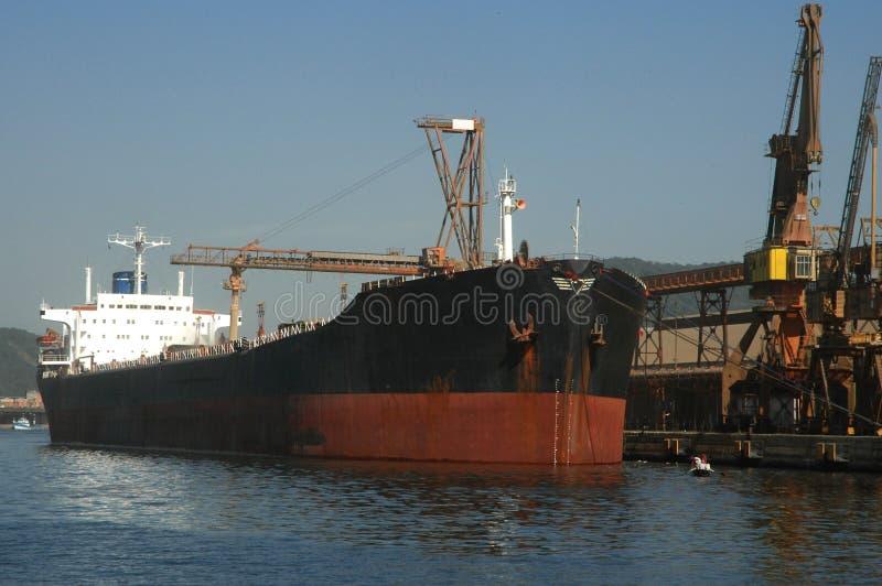 Σκάφος σιταριού που ελλιμενίζεται στοκ εικόνες