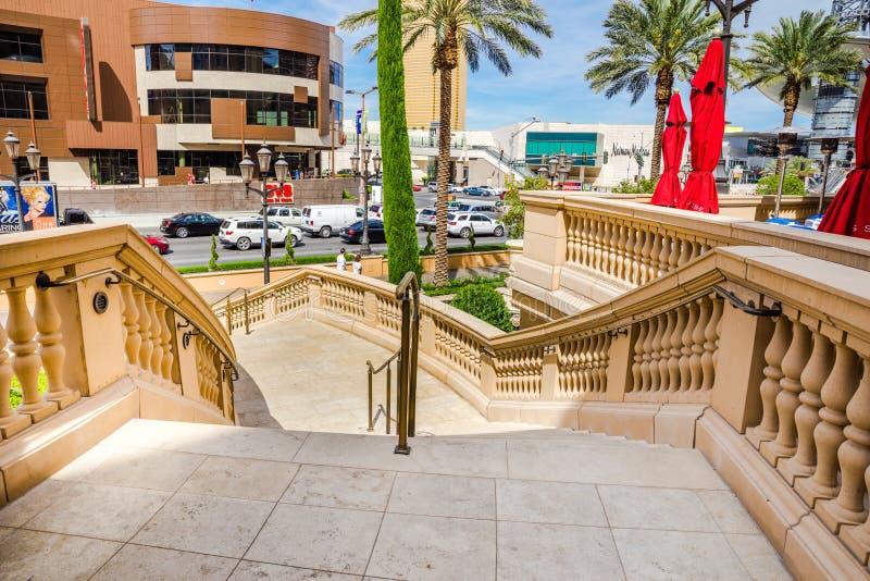 Σκάλα στη λεωφόρο του Λας Βέγκας στοκ φωτογραφία με δικαίωμα ελεύθερης χρήσης