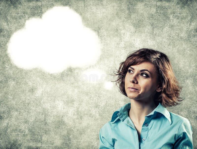 Σκέψεις στο κεφάλι στοκ φωτογραφίες με δικαίωμα ελεύθερης χρήσης