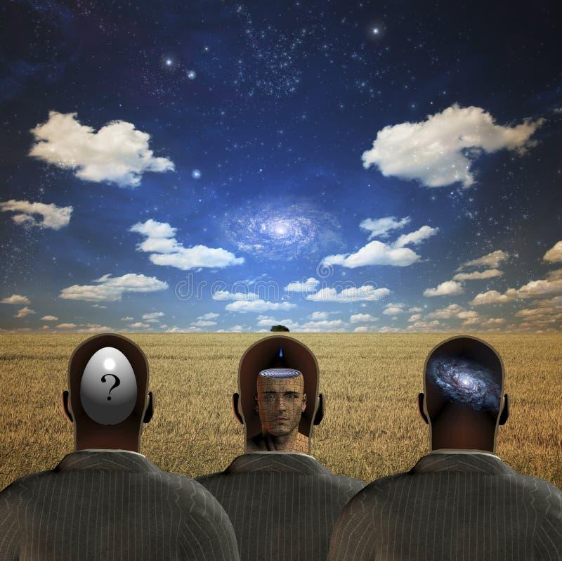 σκέψεις ελεύθερη απεικόνιση δικαιώματος