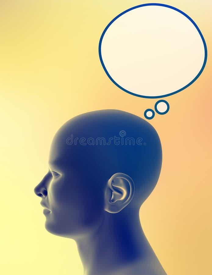 Download σκέψη ατόμων απεικόνιση αποθεμάτων. εικόνα από συγκίνηση - 115283