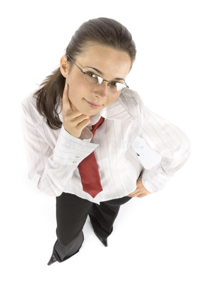 σκέψη επιχειρηματιών στοκ φωτογραφία με δικαίωμα ελεύθερης χρήσης
