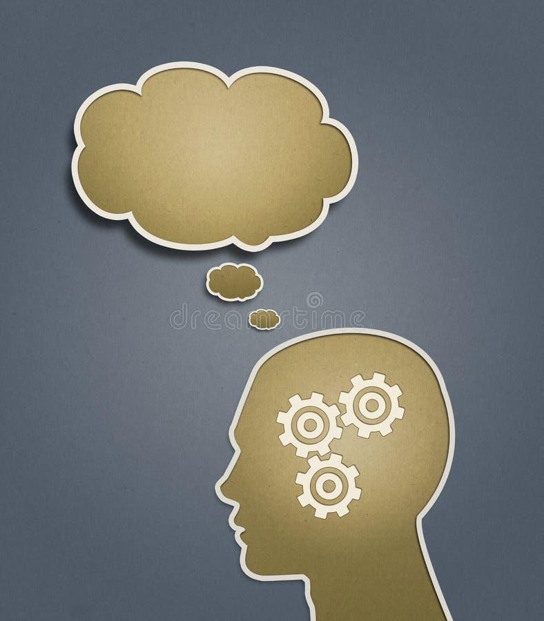 σκέψη ιδέας διανυσματική απεικόνιση