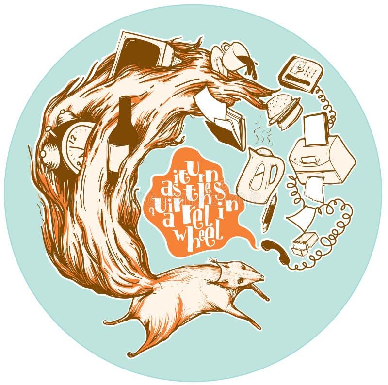 σκίουρος ελεύθερη απεικόνιση δικαιώματος