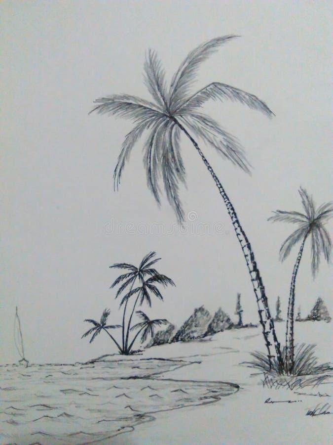 Σκίτσο τέχνης στοκ φωτογραφία