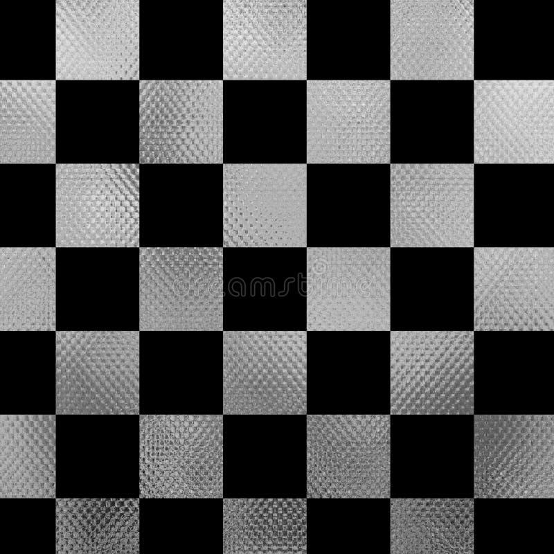 Σκακιέρα μετάλλων διανυσματική απεικόνιση
