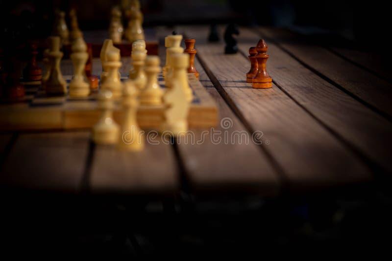 Σκακιέρα με τους αριθμούς στοκ εικόνες