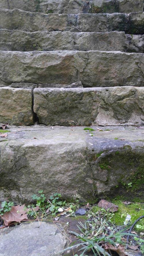 σκαλοπάτια βράχου στοκ εικόνες με δικαίωμα ελεύθερης χρήσης