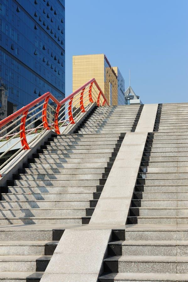 σκαλοπάτια γεφυρών για π&e στοκ φωτογραφία με δικαίωμα ελεύθερης χρήσης