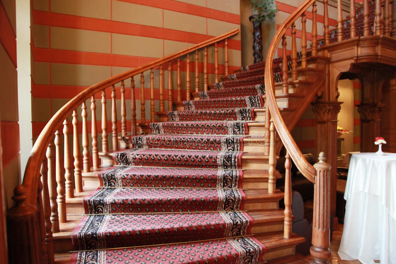σκαλοπάτια κάστρων στοκ φωτογραφία με δικαίωμα ελεύθερης χρήσης