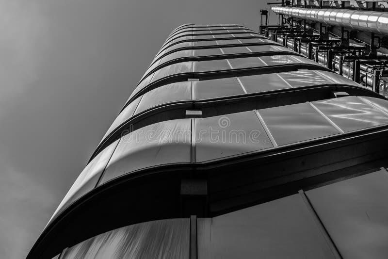 Σκαλοπάτια οικοδόμησης Lloyd ` s στοκ φωτογραφίες με δικαίωμα ελεύθερης χρήσης