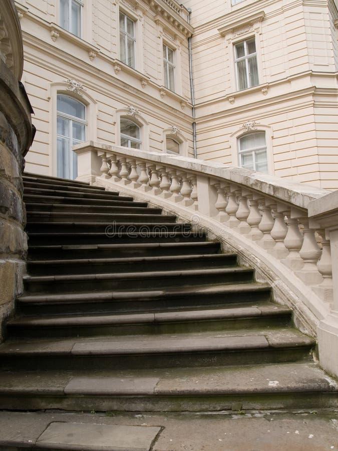 σκαλοπάτια παλατιών στοκ φωτογραφίες με δικαίωμα ελεύθερης χρήσης
