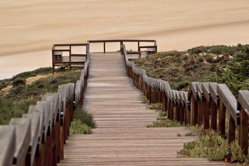 σκαλοπάτια παραλιών στοκ φωτογραφία με δικαίωμα ελεύθερης χρήσης