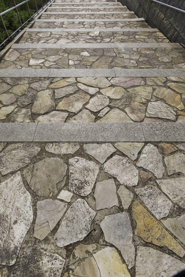Σκαλοπάτια των πετρών στοκ φωτογραφίες με δικαίωμα ελεύθερης χρήσης